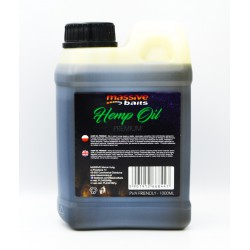 Massive Baits Hemp Oil Premium Liquid 1000 ml