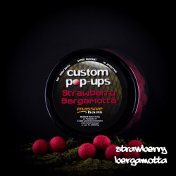Massive Baits Strawberry-Bergamotta Custom Pop-ups 14 mm