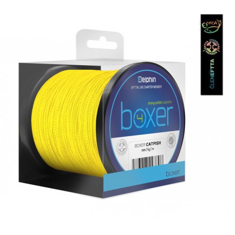 Delphin Boxer 4 Strong Catfish Braided Line 250 m