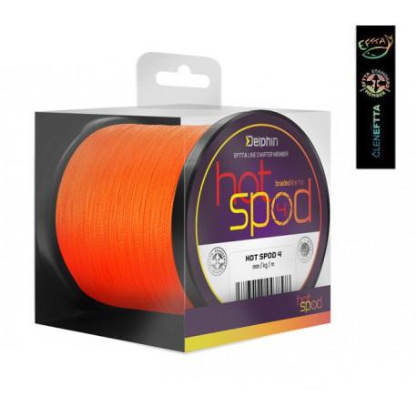 Delphin HotSPOD 4 Braided Line Orange 300 m