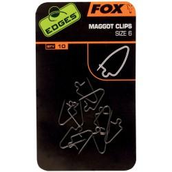Fox Edges Maggot Clips
