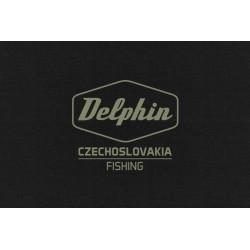 Bluza z kapturem Delphin Czechoslovakia Fishing Black