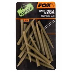 Fox Edges Anti Tangle Sleeves S Trans Khaki