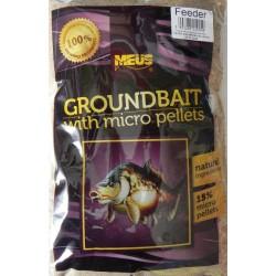 Meus Groundbait with Micropellets 1kg