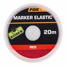 Fox Edges Marker Elastic Red 20m