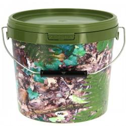 NGT Round Camo Bucket 10l